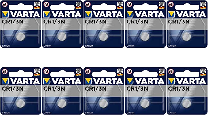 Lithium Batterie Ersetzt Cr 1 3 N Cr11108 10 Stück Elektronik