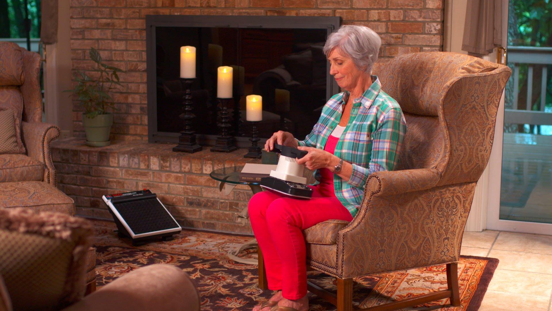 MEDMASSAGER Variable Speed Foot & Body Massager Combo