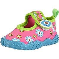 Playshoes GmbH Unisex Kids UV Protection Aqua Flowers Walking Baby Sandals