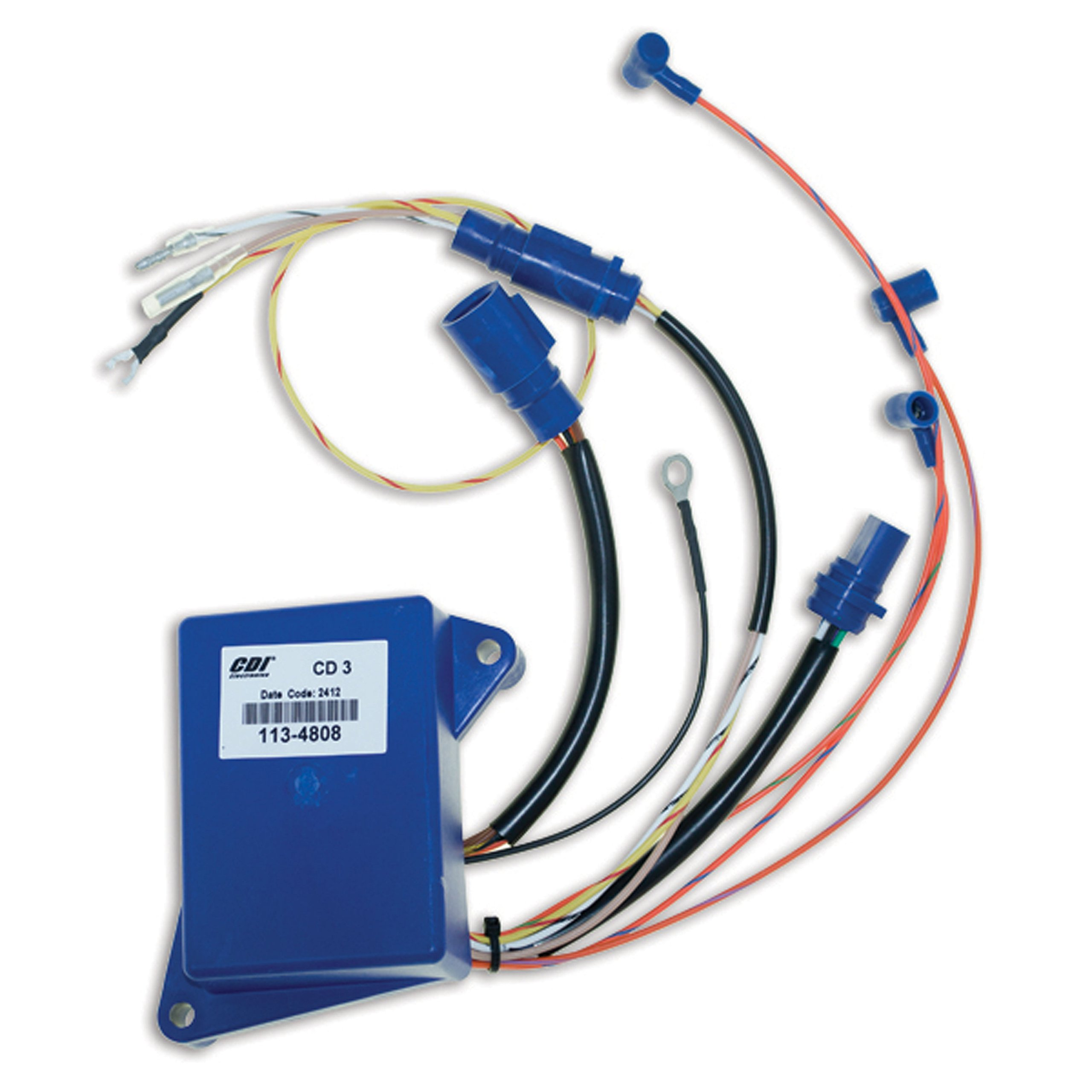 CDI Electronics 113-4808 Power Pack (Johnson/Evinrude - 3 Cyl (1993-2001))