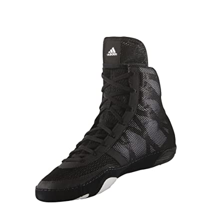 adidas Pretereo III Wrestling Shoes BlackSilverWhite