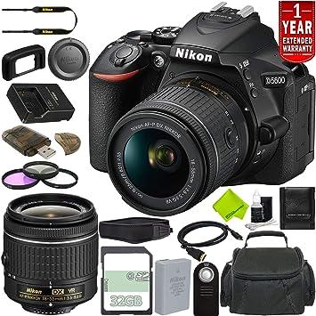 Amazon.com: Nikon D5600 - Cámara réflex digital (solo para ...