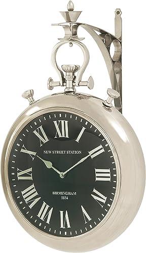 Deco 79 Splendid Steel Wall Clock