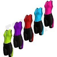 Foxter Vrouwen Triathlon Pak Tri Race Pak Vrouwen Trisuit Running Zwemmen Fietsen Huid Pak