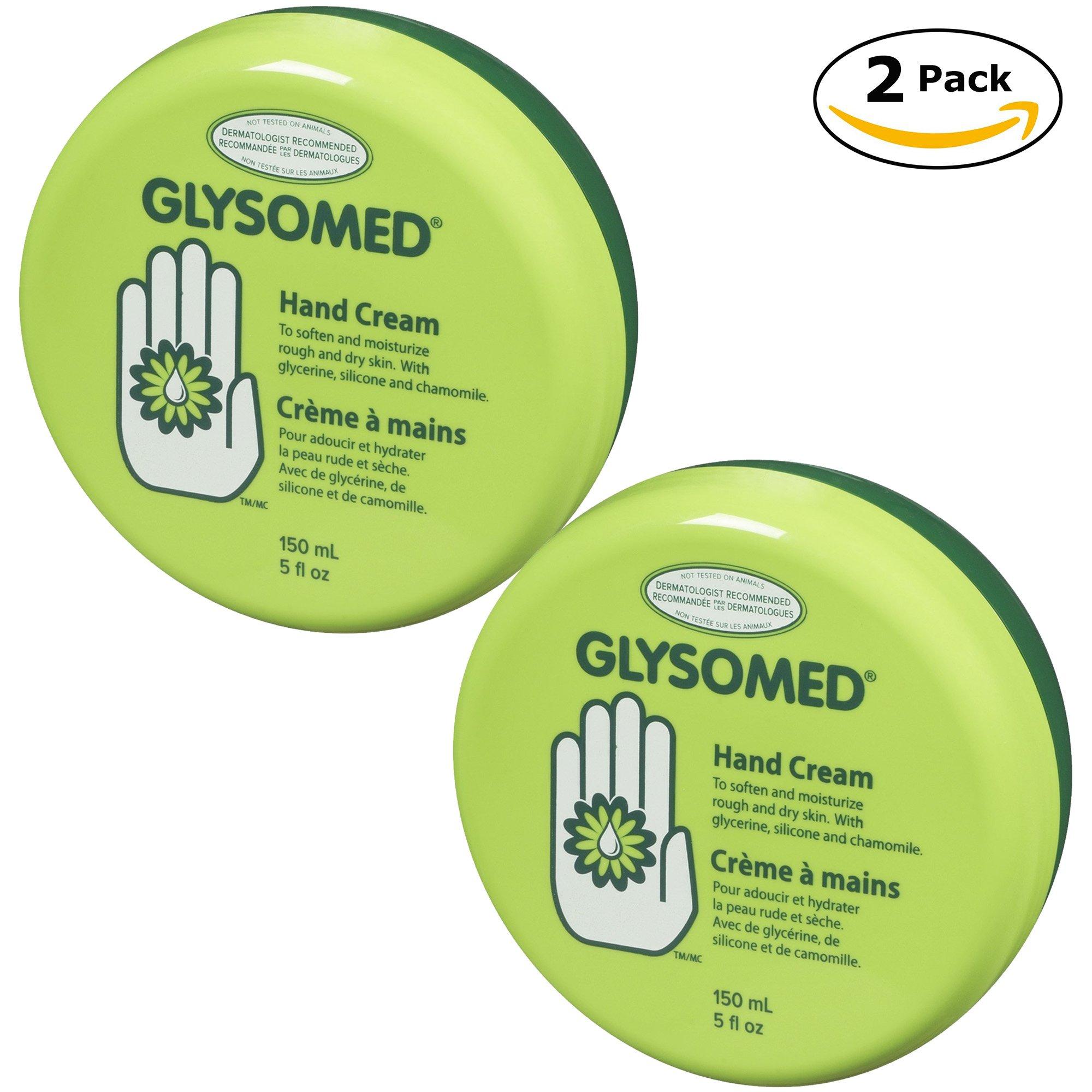 Glysomed Regular Hand Cream Twin Pack Total 10 Fl. Oz (2 x 5 Fl. Oz) by Glysomed