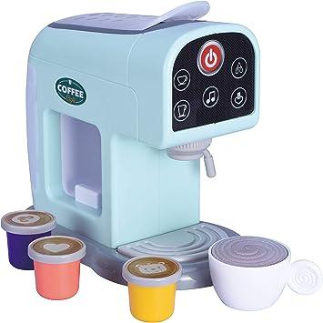 Oojami My First Kitchen Appliance Cafetera Set incluye cápsulas de café sonidos y luces realistas, es un regalo ideal para los niños: Amazon.es: Juguetes y juegos