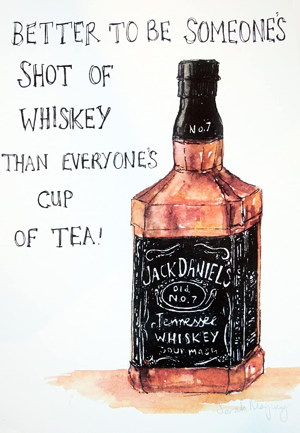 Tallenge - Jack Daniel\'s Whisky Painting - Large Photographic Paper  (24\