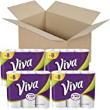 Viva Choose-A-Sheet* Paper Towels, White, Big Roll, 6 Count (Pack of 4)
