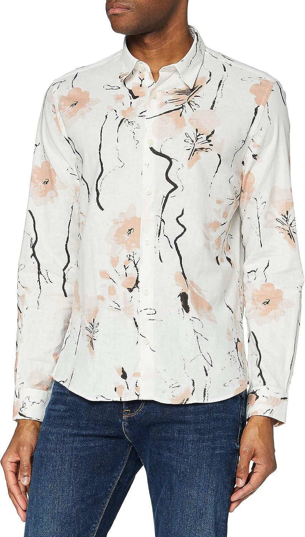find Marke Herren Hemd mit Blumenmuster