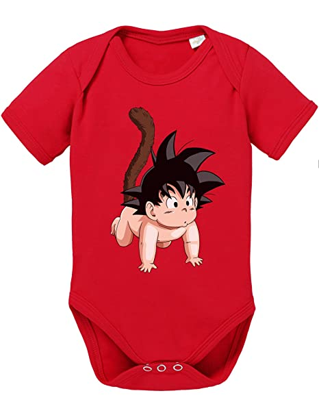Son Goku baby Baby Bebé Body Dragon Master Son Ball Vegeta Turtle Roshi Db, Größe2