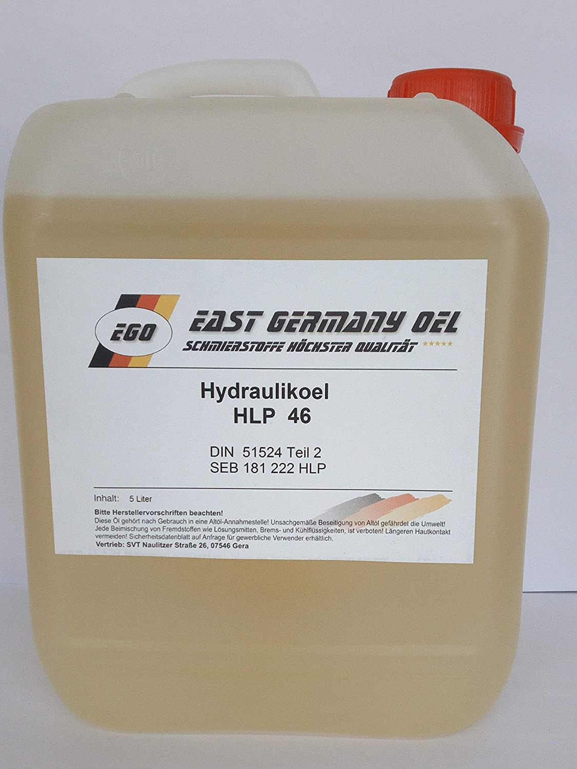 Hydraulic Oil Hlp 46 Canister 5 Litre Capacity Business Industry Science