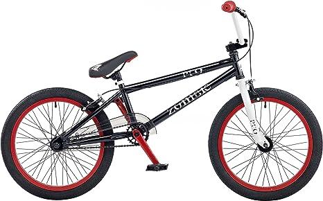 Zombie 1617W20 - Bicicleta infantil BMX para niño, 5-7 años, color ...