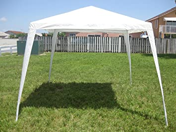 Biscayne Bay Gazebo/Canopy 10 x 10 White & Amazon.com: Biscayne Bay Gazebo/Canopy 10 x 10 White: Sports ...