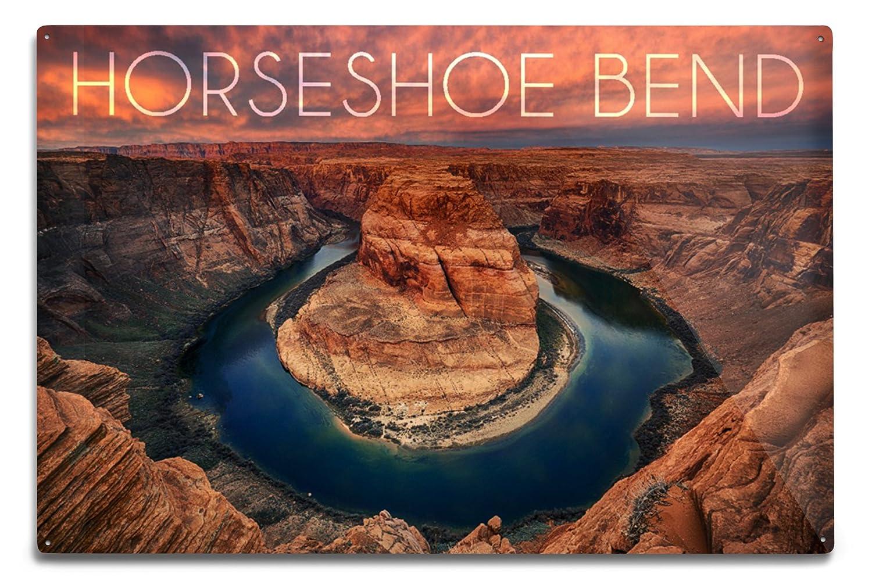 人気の春夏 Horseshoe Bend、アリゾナ Sign Canvas 18 Tote Metal Bag LANT-56757-TT B06Y12K586 12 x 18 Metal Sign 12 x 18 Metal Sign, イチコネットショップ:dd365635 --- hohpartnership-com.access.secure-ssl-servers.biz
