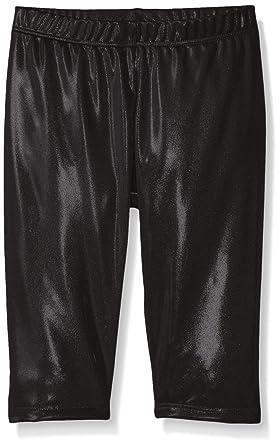 1cfcfbff5d08af Gia Mia Dance Girls' Metallic Capri Pant: Amazon.in: Clothing ...
