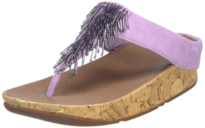 FitFlop Cha Cha, Sandales Bout Ouvert Femme Femme Purple Sandales (Dusty Bout Lilac) 86a158c - robotanarchy.space