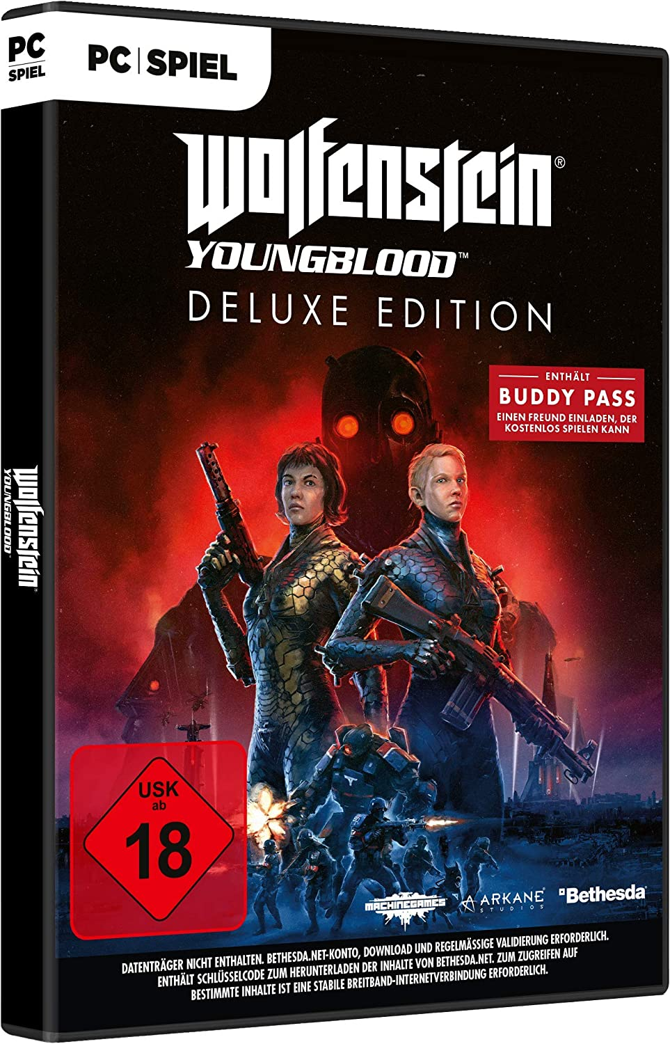 Wolfenstein Youngblood - Deluxe Edition (Deutsche Version ...