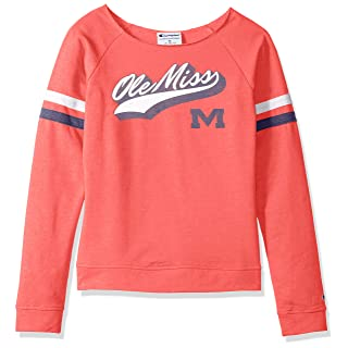 NCAA Womens Champion NCAA Women's Long Sleeve Fall Fashion Sweatshirt