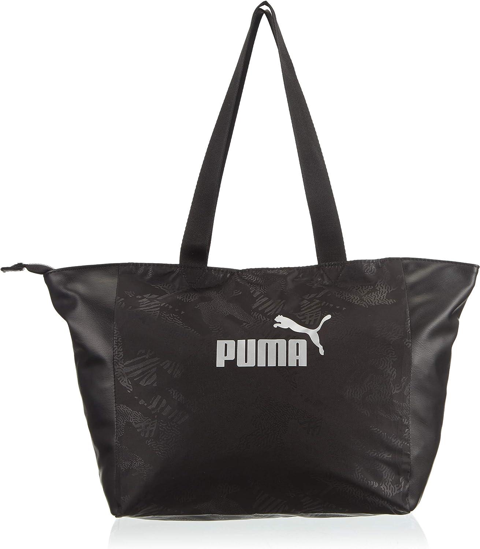PUMA WMN Core Up Large Shopper Bandolera, Mujeres, Bridal Rose-Metallic, OSFA