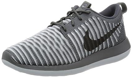 a15790e15bf1 Amazon.com  Nike Women Roshe Two Flyknit (dark grey   dark grey-pure ...