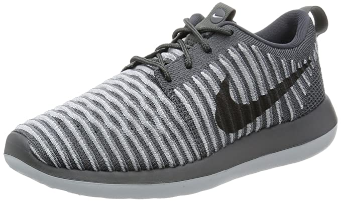 pretty nice fa53a 9ac2f Nike Women Roshe Two Flyknit (dark grey / dark grey-pure platinum)