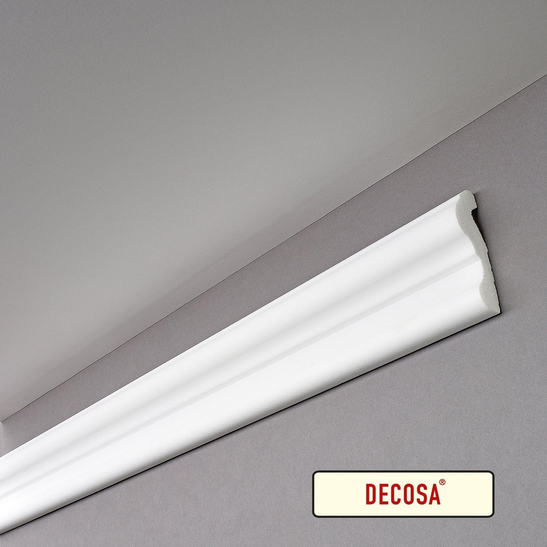 70 mm longueur 2 m PRIX SPECIAL LOT de 10 pi/èces Decosa Cimaise F70