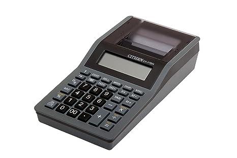 Citizen CX-77BN Druckender Tischrechner schwarz