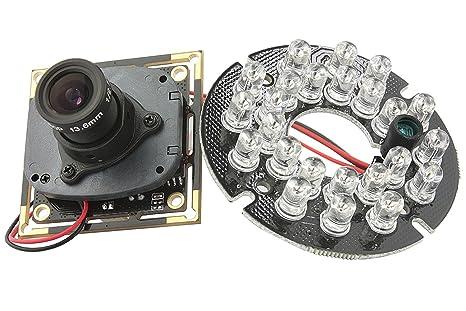 ELP Web-USB Kamera Spion 720P mit IR Cut Kamera Überwachungskamera 1 ...