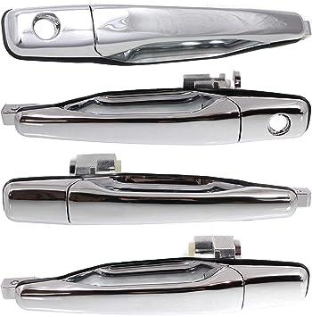 Door Handle Outside Smooth Black Rear Passenger Right RH for Lancer Evolution