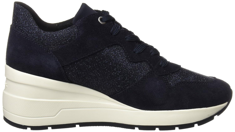 Geox Geox Geox Damen D Zosma C Sneaker Blau (Navy) 01a146