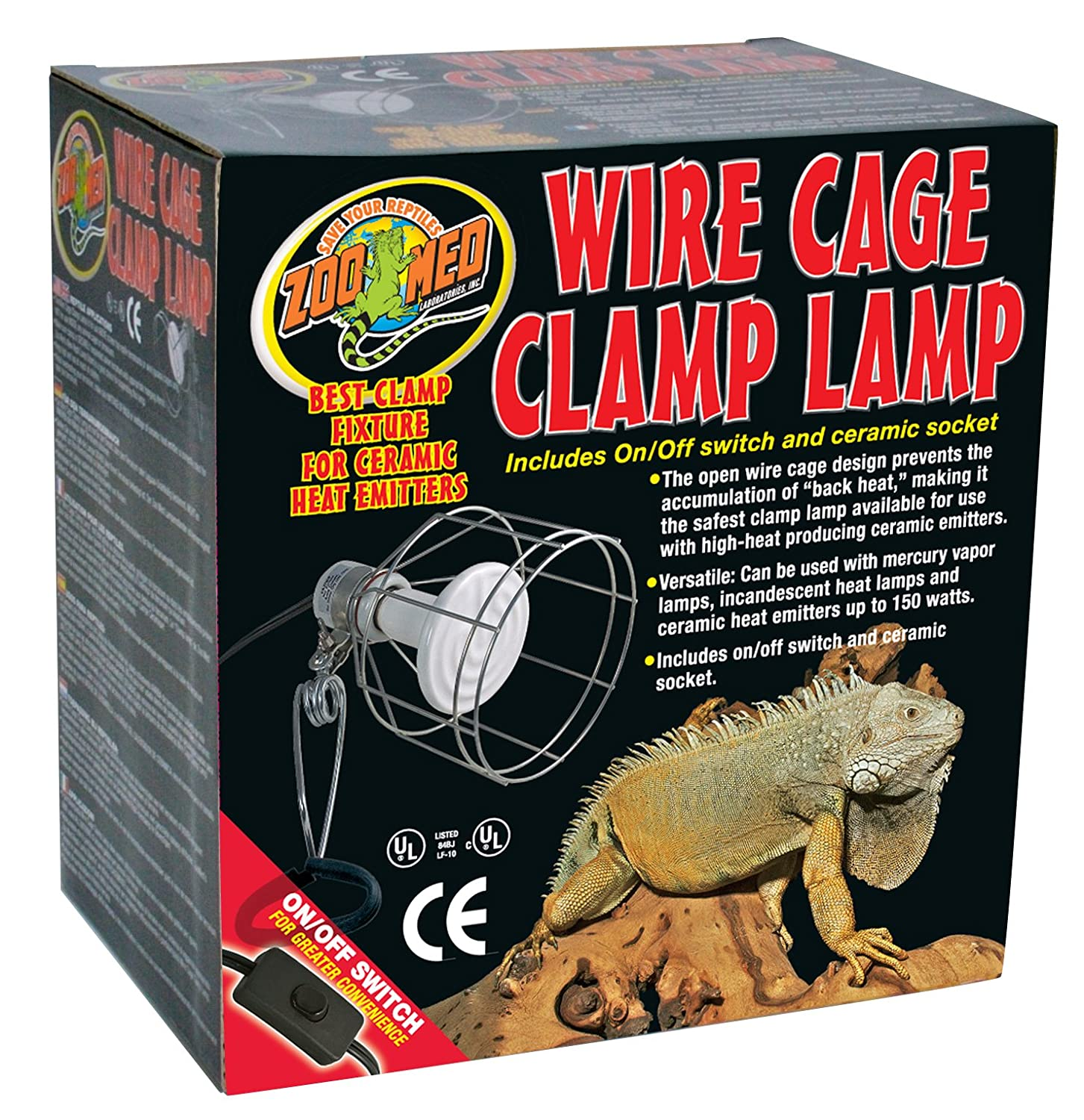 Zoo Med Wire Cage Clamp Lamp: Amazon.ca: Pet Supplies