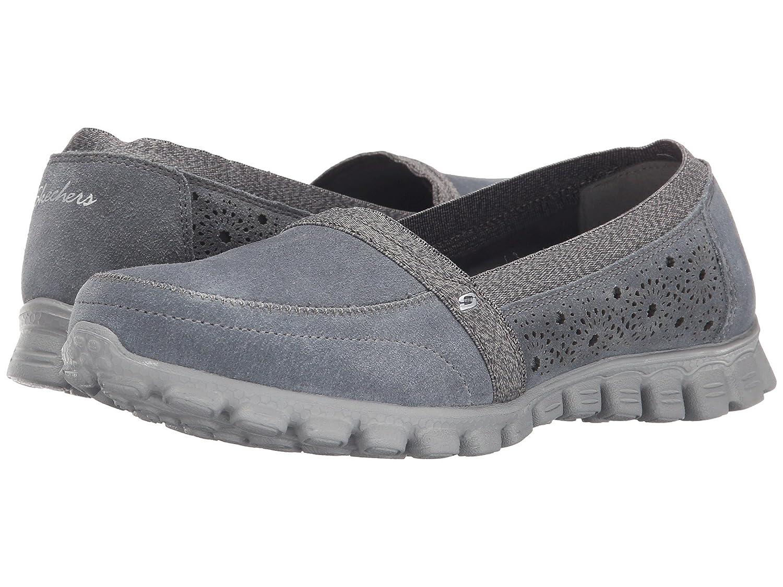 Skechers Sport Women's EZ Flex Tweetheart Slip-On Sneaker B00VQPFHCY 7 B(M) US|Grey
