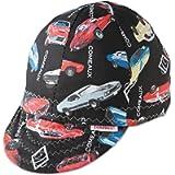 Comeaux Caps 118-2000R-7-5/8 Deep Round Crown Caps, 7 5/8', Assorted Prints