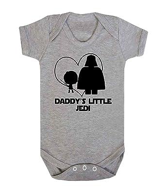 Daddy s Little Jedi Star Wars bebé chaleco para niño Babygrow Mono Funny Jedi: Amazon.es: Ropa y accesorios