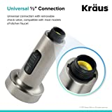 Kraus Dual Function, Pull-Out Spray Head for