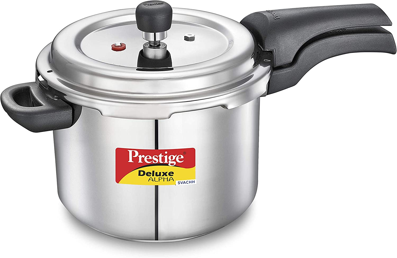 Prestige PRASV4 PRESSURE COOKER, 4 Liter, SILVER