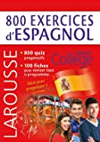800 exercices d'espagnol