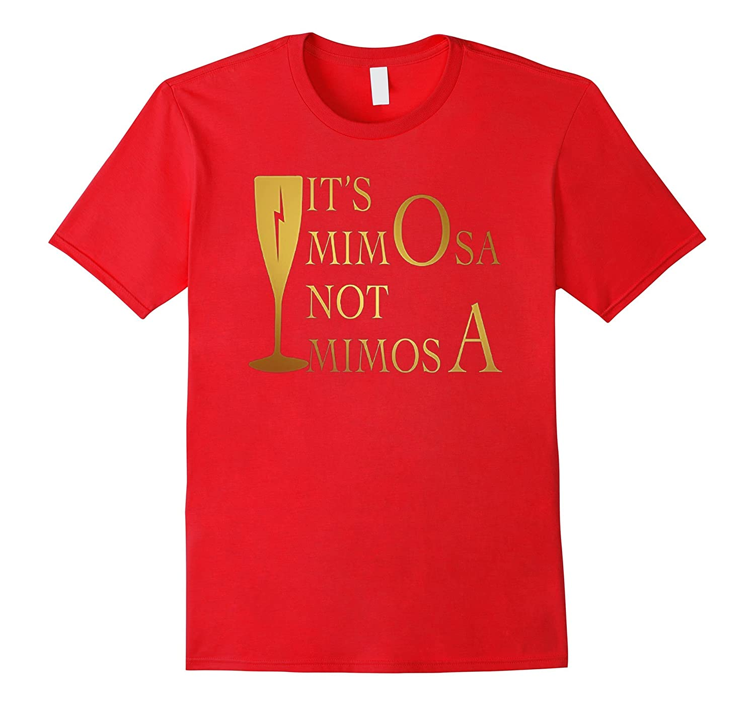 Women Tee - It's mimO-sa not mi-mosA-azvn