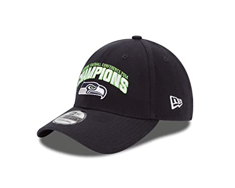 Image Unavailable. Image not available for. Color  NFL Conference Champion Seattle  Seahawks 39Thirty Stretch Fit Cap ... 8de067c4c
