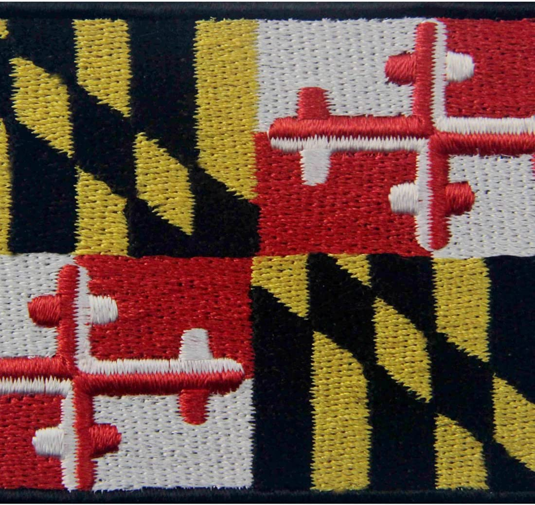 Iron on Maryland Patch