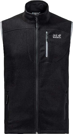 Jack Wolfskin Men's Thunder Bay Fleece Jacket Black, XXX