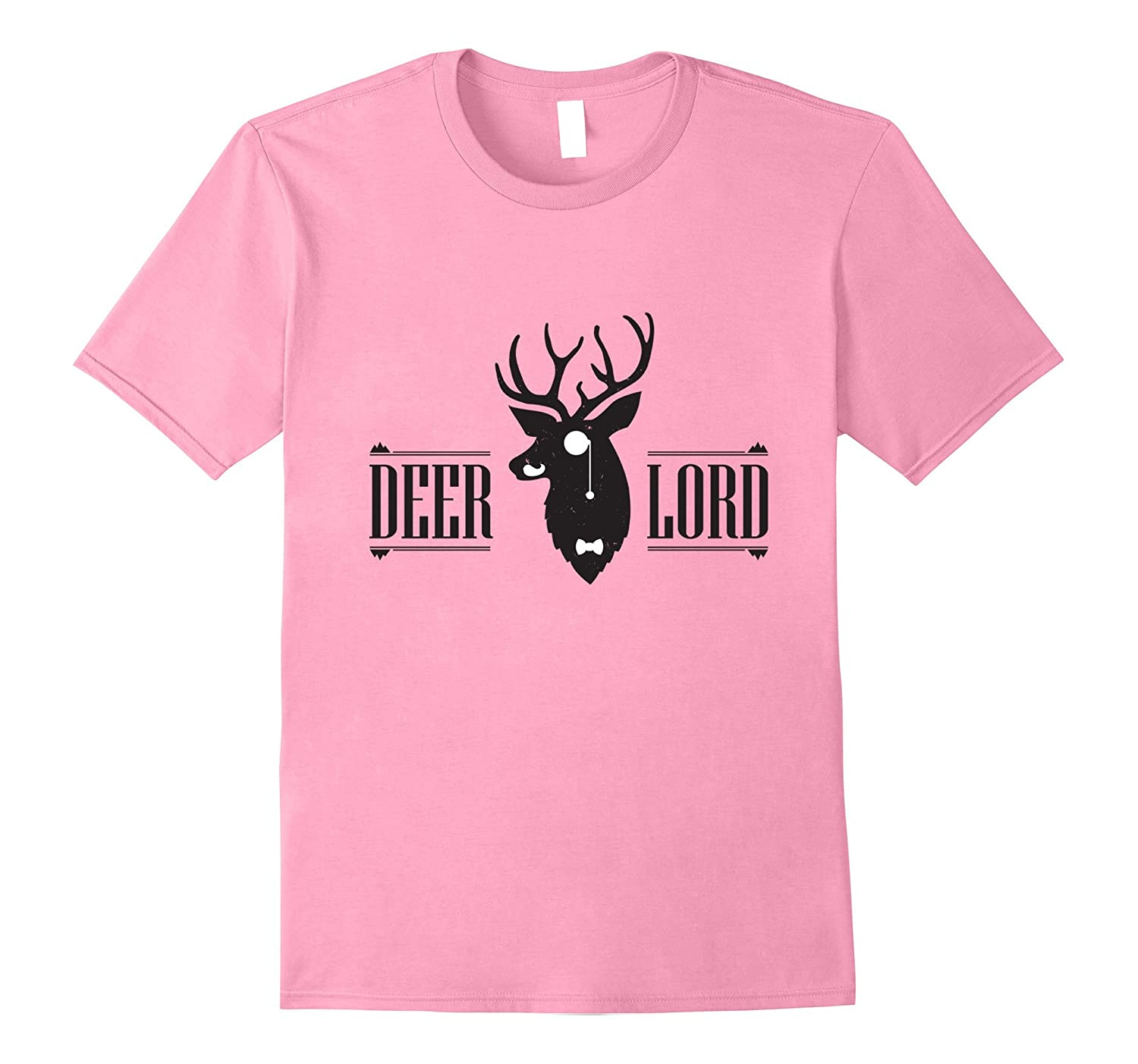 Vintage Style Deer Lord Funny Animal T-Shirt-T-Shirt