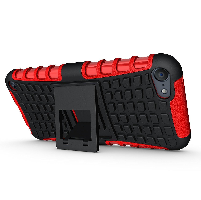 5 FoneExpert/® Resistente alle cadute Armatura dellimpatto Robusta Custodia Kickstand Shockproof Protective Case Cover Per iPod Touch 6 5 Custodia Cover Case iPod Touch 6