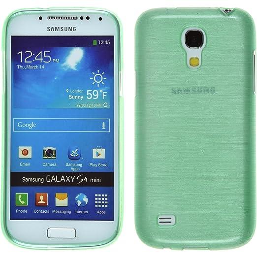 148 opinioni per PhoneNatic Custodia Samsung Galaxy S4 Mini Cover verde brushed Galaxy S4 Mini in