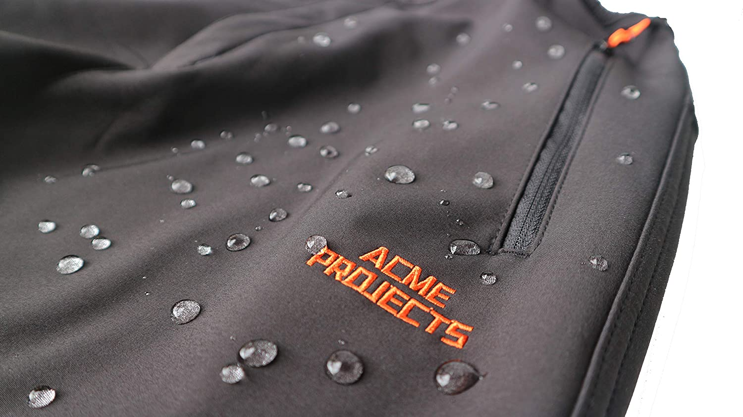 8000mm//3000gm Acme Projects Fleece Lined Softshell Trousers Breathable 100/% Waterproof