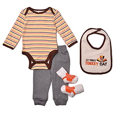 6ef17fe492dc5 Amazon.com: Baby Gear Baby Boys' Newborn 4 Piece Deluxe Set-Camo: Clothing