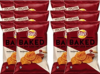 product image for Lay's Oven Baked Barbecue Potato Crisps Gluten Free Snacks 6.25 oz. (12)