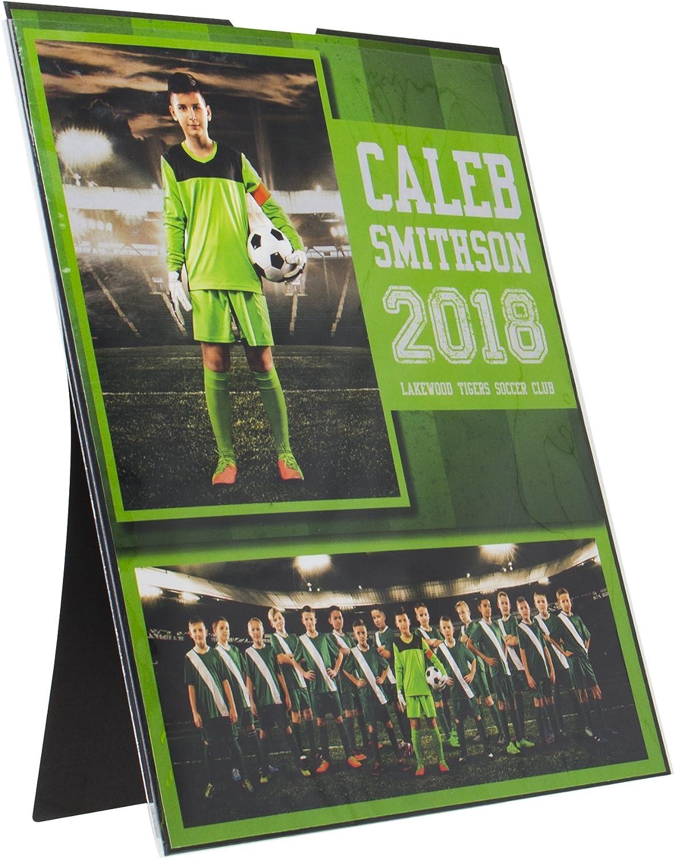 Wood One Size NCAA Legacy Tulane Green Wave Memento Photo Holder 8x10