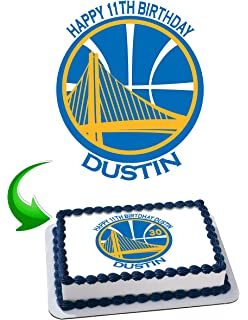 c1f37fc13c3a Golden State Warriors Stephen Curry 30 Birthday Cake Personalized Cake  Toppers Edible Frosting Photo Icing Sugar