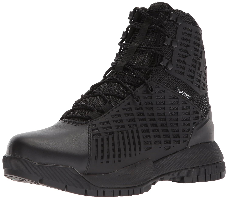 Under Armour Women's Stryker Waterproof Sneaker B071S8FYWW 7.5 M US|Black (001)/Black
